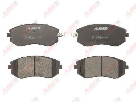 Гальмівні колодки дискові перед. Subaru Forester/Legacy 03- / Outback 04- AWD ABE C17013ABE