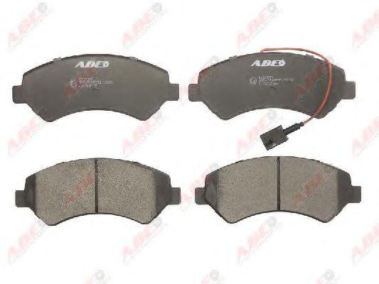 Гальмівні колодки дискові пер. Citroen Jumper/Fiat Ducato/Peugeot Boxer 06- ABE C1F058ABE