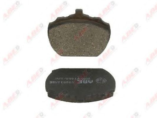 Гальмівні колодки, дискові  арт. C1G011ABE
