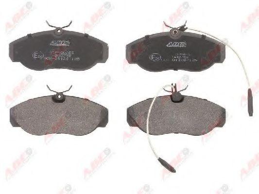Гальмівні колодки, дискові  арт. C1P020ABE