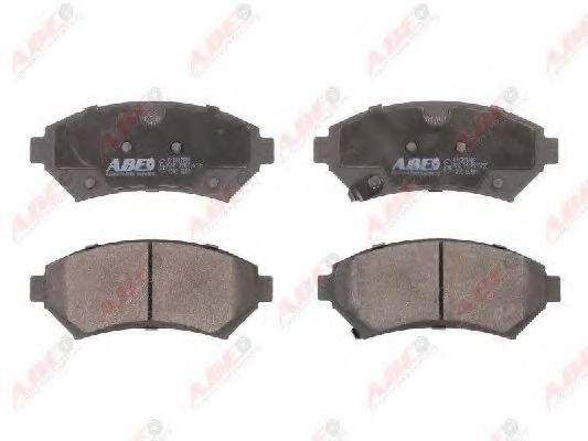 Гальмівні колодки, дискові  арт. C1X017ABE