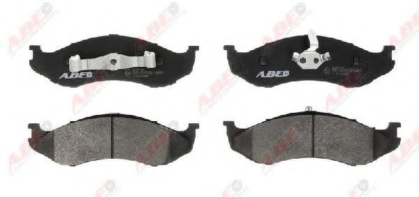 Комплект тормозных колодок, дисковый тормоз  арт. C1Y013ABE