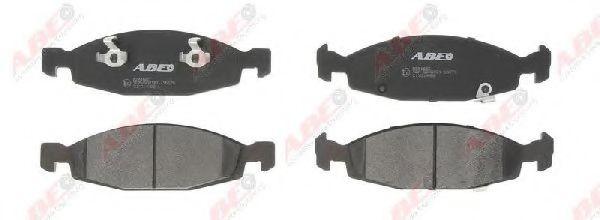 Комплект тормозных колодок, дисковый тормоз  арт. C1Y014ABE