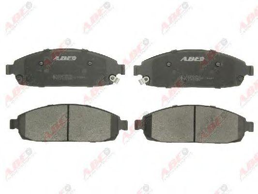 Комплект тормозных колодок, дисковый тормоз  арт. C1Y026ABE