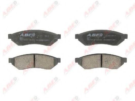 Гальмівні колодки, дискові  арт. C20005ABE