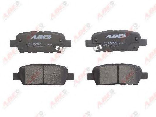 Колодки задние J10E/T30/T31/FX/Z50/Koleos/  арт. C21042ABE