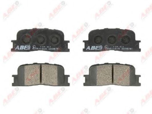 Гальмівні колодки, дискові  арт. C22030ABE