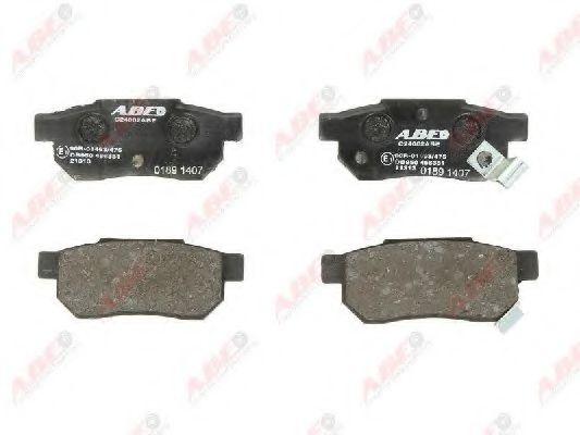 Комплект тормозных колодок, дисковый тормоз (без упаковки)                                            арт. C24002ABE