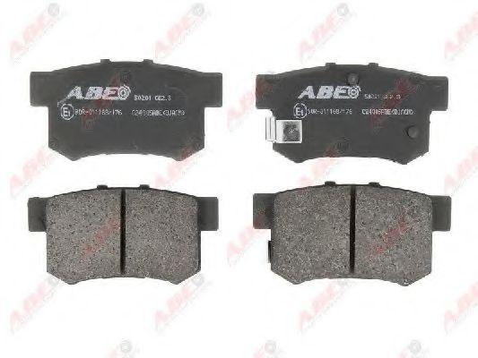 Гальмівні колодки, дискові  арт. C24005ABE