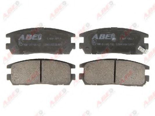 Гальмівні колодки, дискові  арт. C29001ABE