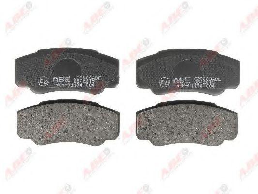 Гальмівні колодки, дискові  арт. C2C009ABE