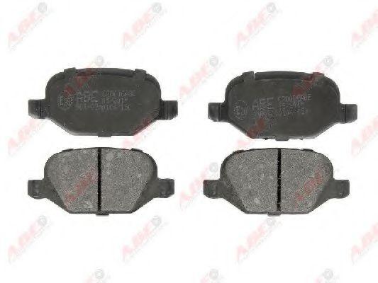 Гальмівні колодки, дискові  арт. C2D006ABE