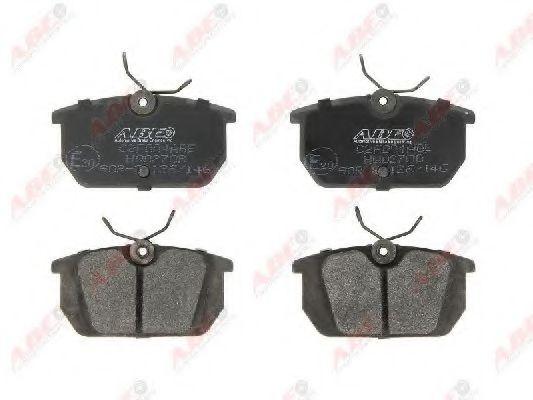 Колодки тормозные задние AR145/Tempra +ABS в интернет магазине www.partlider.com