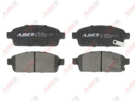 Гальмівні колодки, дискові  арт. C2X014ABE