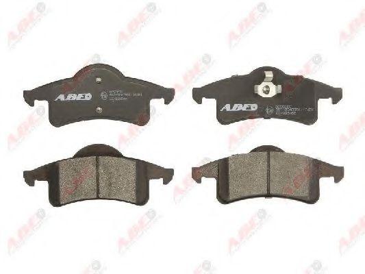 Комплект тормозных колодок, дисковый тормоз  арт. C2Y003ABE
