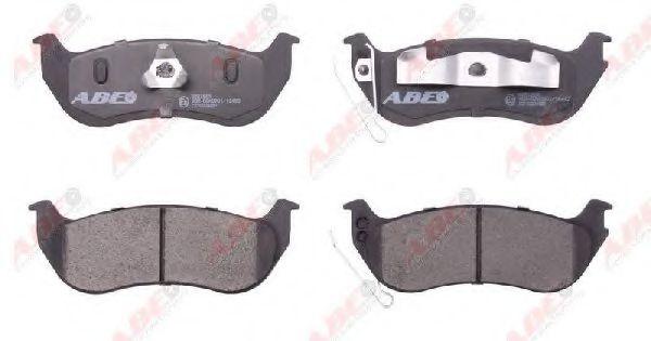 Комплект тормозных колодок, дисковый тормоз  арт. C2Y022ABE