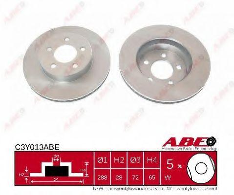 Тормозной диск  арт. C3Y013ABE