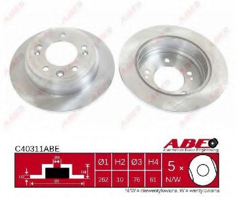 Гальмівний диск  арт. C40311ABE
