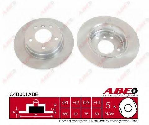 BRAKE DISC abe C4B001ABE