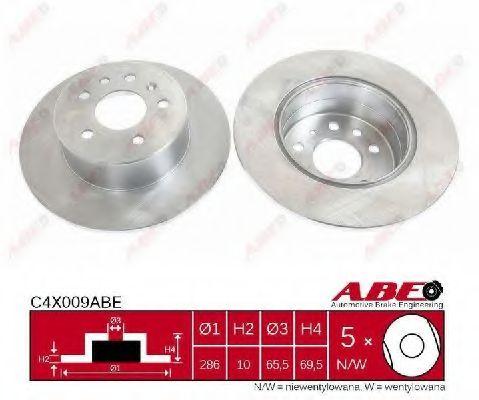 Гальмівний диск  арт. C4X009ABE