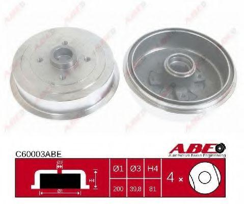 Гальмівний барабан ABE C60003ABE