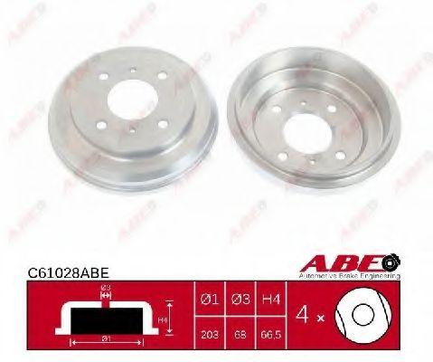 Гальмівний барабан ABE C61028ABE