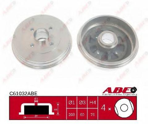 Гальмівний барабан ABE C61032ABE