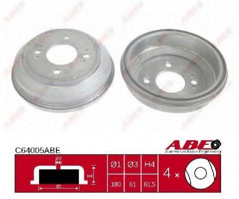 Тормозной барабан Тормозной барабан ABE арт. C64005ABE