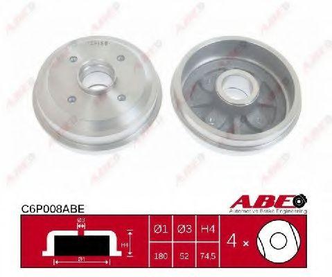 Гальмівний барабан ABE C6P008ABE