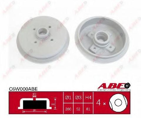 Гальмівний барабан ABE C6W000ABE