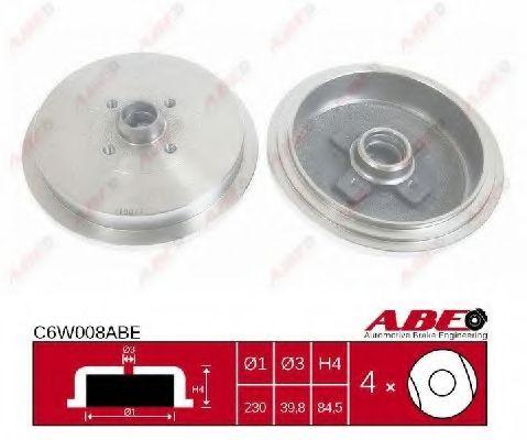 Гальмівний барабан ABE C6W008ABE