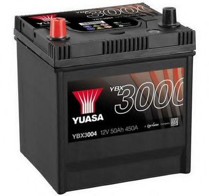 Yuasa 12V 50Ah SMF Battery Japan YBX3004 (1)  арт. YBX3004