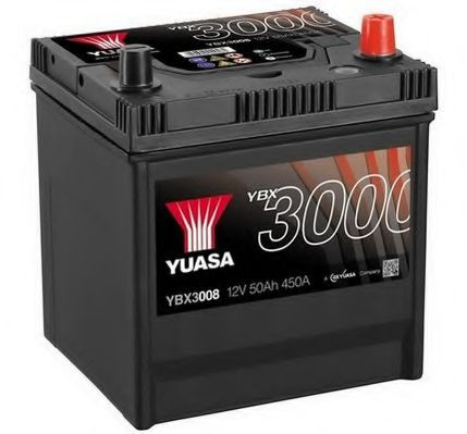 Yuasa 12V 50Ah SMF Battery Japan YBX3008 (0)  арт. YBX3008