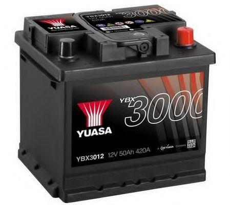 Yuasa 12V 50Ah SMF Battery YBX3012 (0)  арт. YBX3012