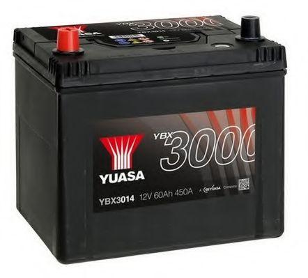 Yuasa 12V 60Ah SMF Battery Japan  YBX3014 (1)  арт. YBX3014