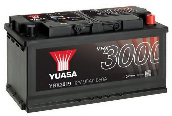 Yuasa 12V 95Ah SMF Battery YBX3019 (0)  арт. YBX3019
