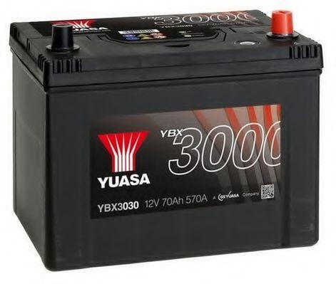 Yuasa 12V 70Ah SMF Battery Japan YBX3030 (0)  арт. YBX3030