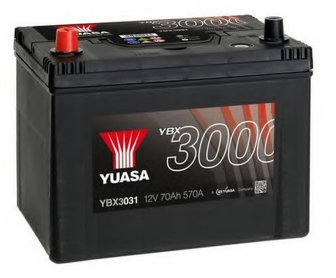 АКБ Yuasa Professional LP (+/-) 70AH/570A 258x173x225  арт. YBX3031