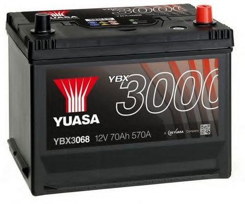 Yuasa 12V 70Ah SMF Battery Japan YBX3068 (0)  арт. YBX3068