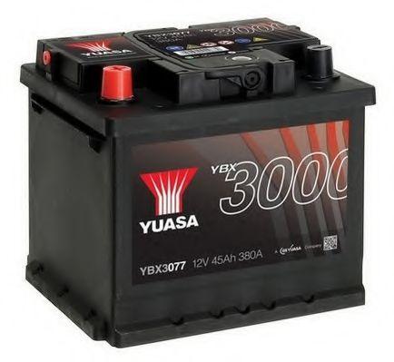 Yuasa 12V 45Ah  SMF Battery YBX3077 (1)  арт. YBX3077
