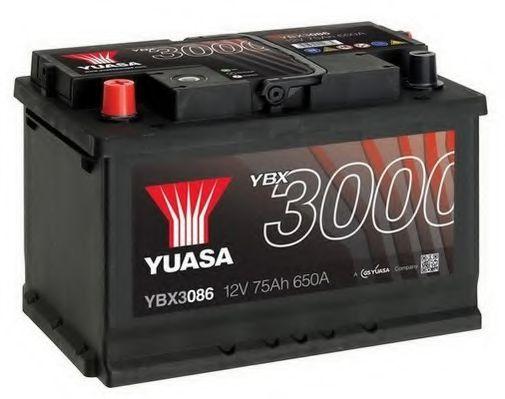 Yuasa 12V 75Ah SMF Battery YBX3086 (1)  арт. YBX3086