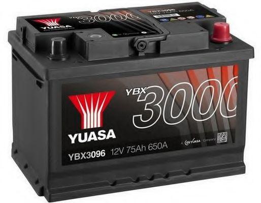 Yuasa 12V 75Ah SMF Battery YBX3096 (0)  арт. YBX3096