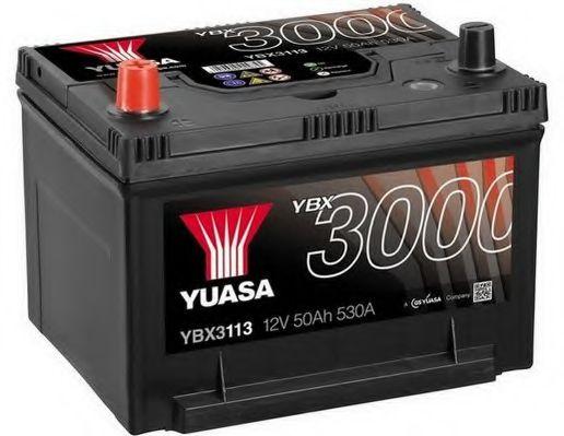 Yuasa 12V 50Ah SMF Battery Japan YBX3113 (1)  арт. YBX3113