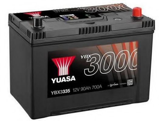 Yuasa 12V 90Ah SMF Battery Japan YBX3335 (0)  арт. YBX3335