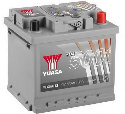 Yuasa 12V 52Ah Silver High Performance Battery YBX5012 (0)   арт. YBX5012