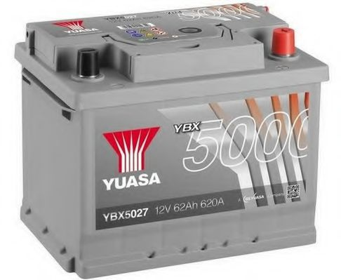 Yuasa 12V 62Ah Silver High Performance Battery YBX5027 (0)  арт. YBX5027