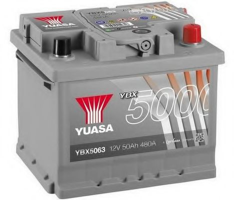 Yuasa 12V 50Ah Silver High Performance Battery YBX5063 (0)   арт. YBX5063