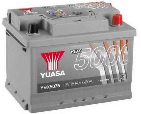 Yuasa 12V 60Ah Silver High Performance Battery YBX5075 (0)  арт. YBX5075