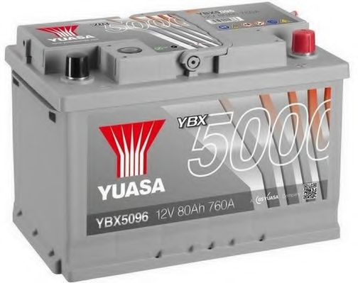 Yuasa 12V 80Ah Silver High Performance Battery YBX5096 (0)  арт. YBX5096