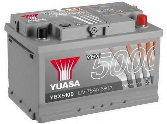 Yuasa 12V 75Ah Silver High Performance Battery YBX5100 (0)  арт. YBX5100